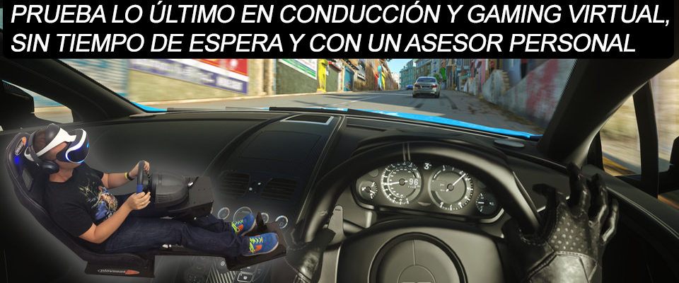 Ven a probar tu playseat
