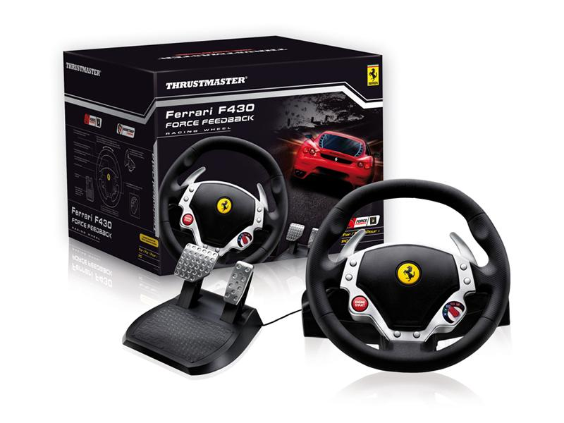 Tahirah Ferrari F430 Force Feedback Racing Wheel