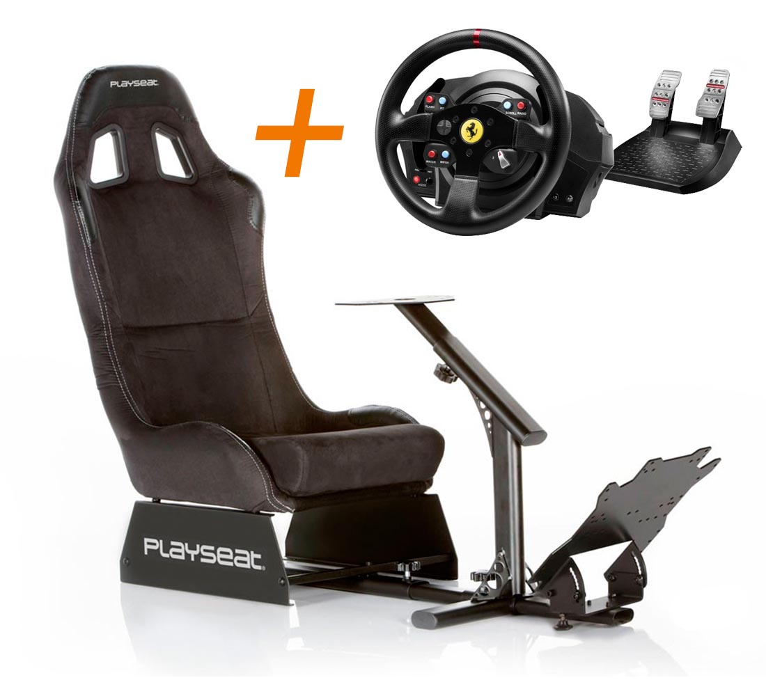Playseat Playseat Alcántara + volante ThrustmasterT300GTE