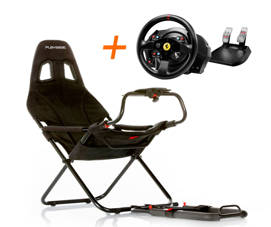 Playseat Playseat Challenge+4160609 Volante T300GTE