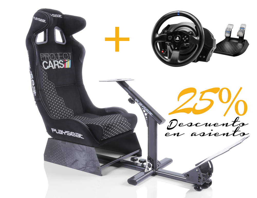 Playseat Playseat Project Cars + Thrustmaster T300 RS