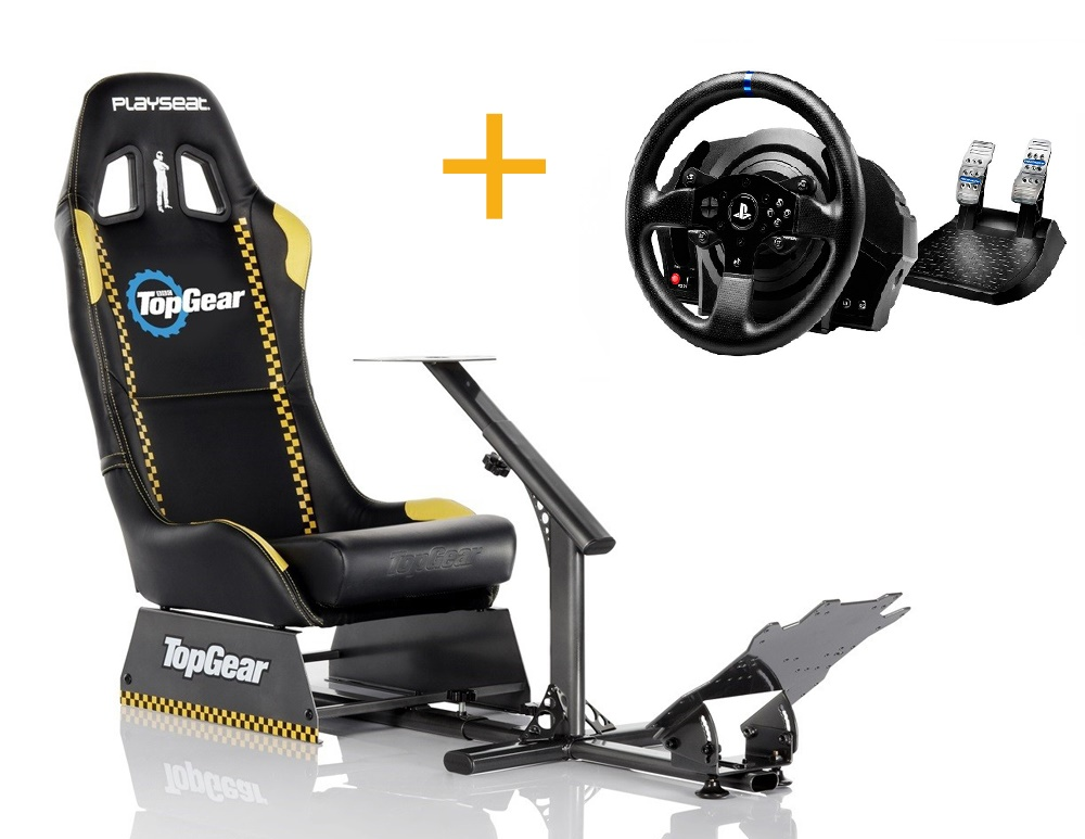 Playseat Playseat Evo Top Gear+4160604 Volante T300RS