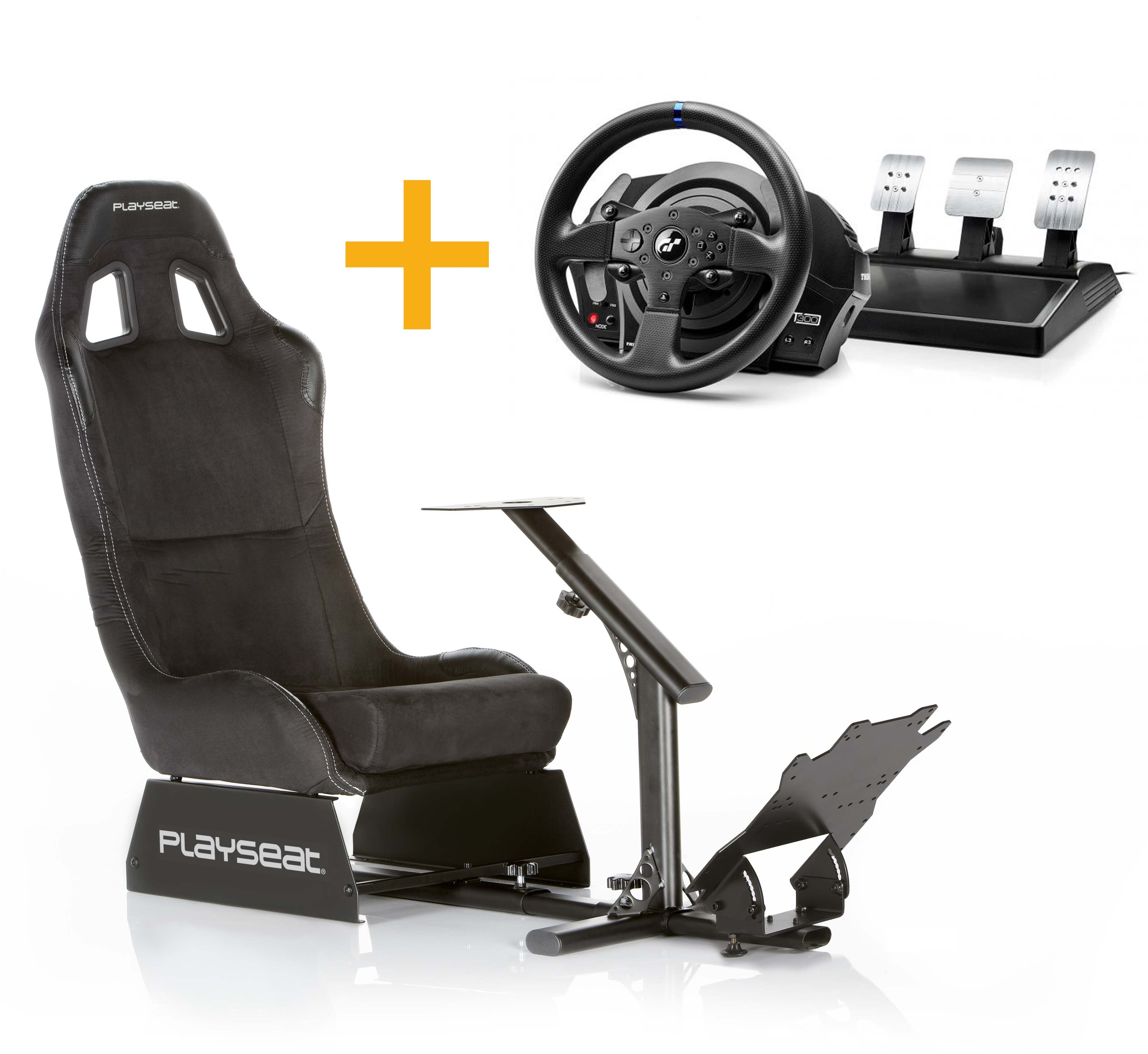 Playseat Playseat Alcántara + volante ThrustmasterT300RS GT