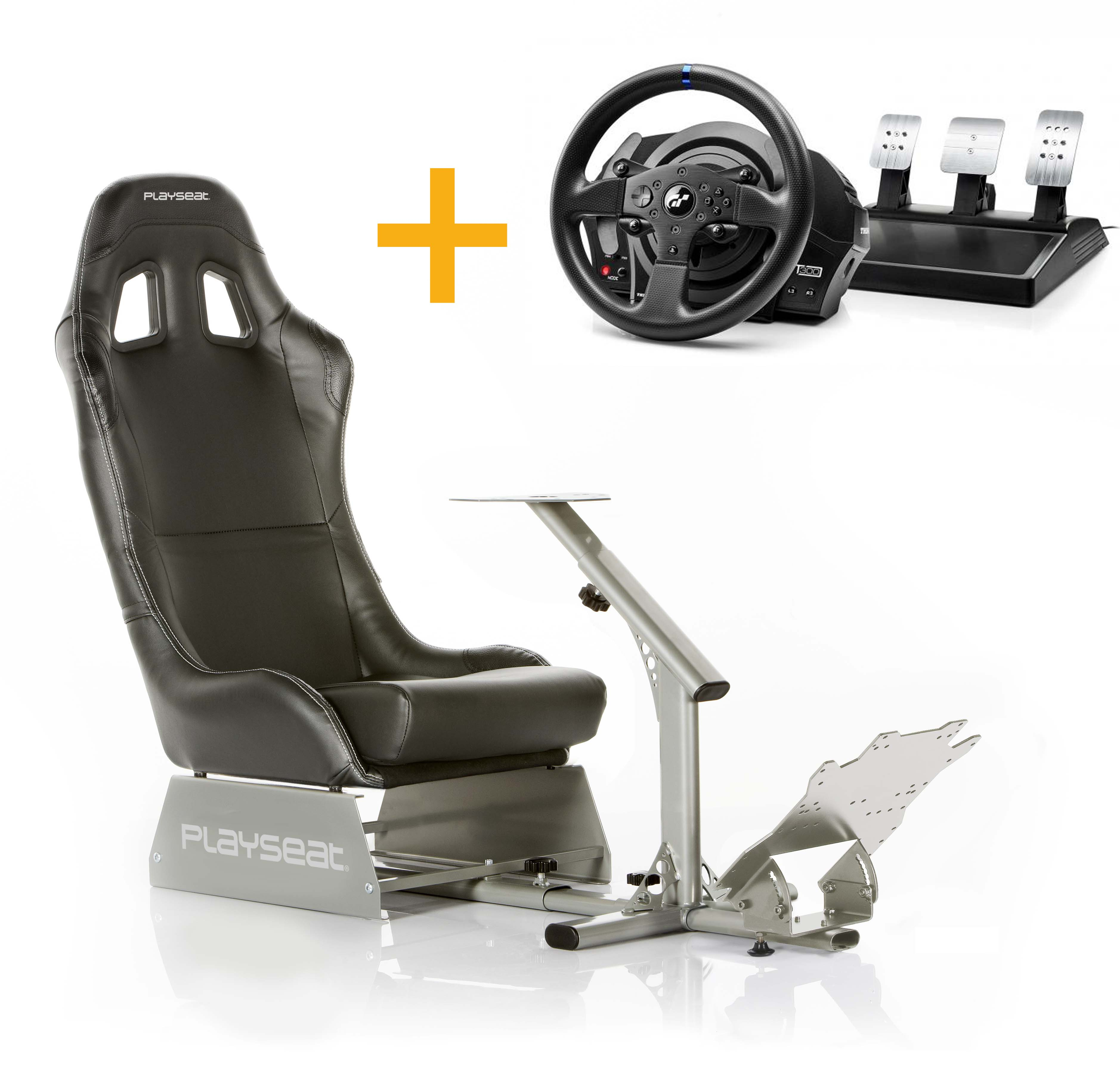Playseat Playseat Evo Negro+4160681 Volante T300RS GT
