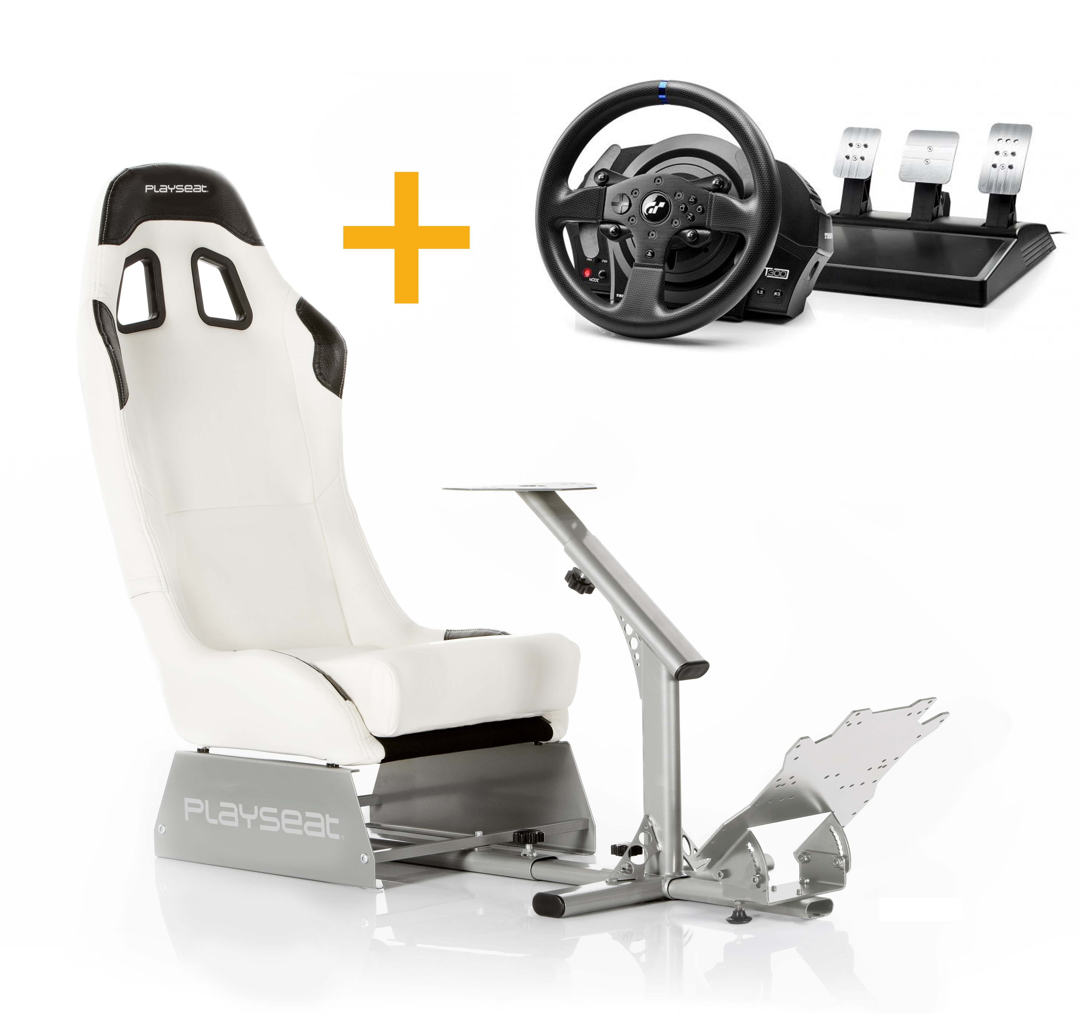 Playseat Playseat Evo Blanco+4160681 Volante T300RS GT
