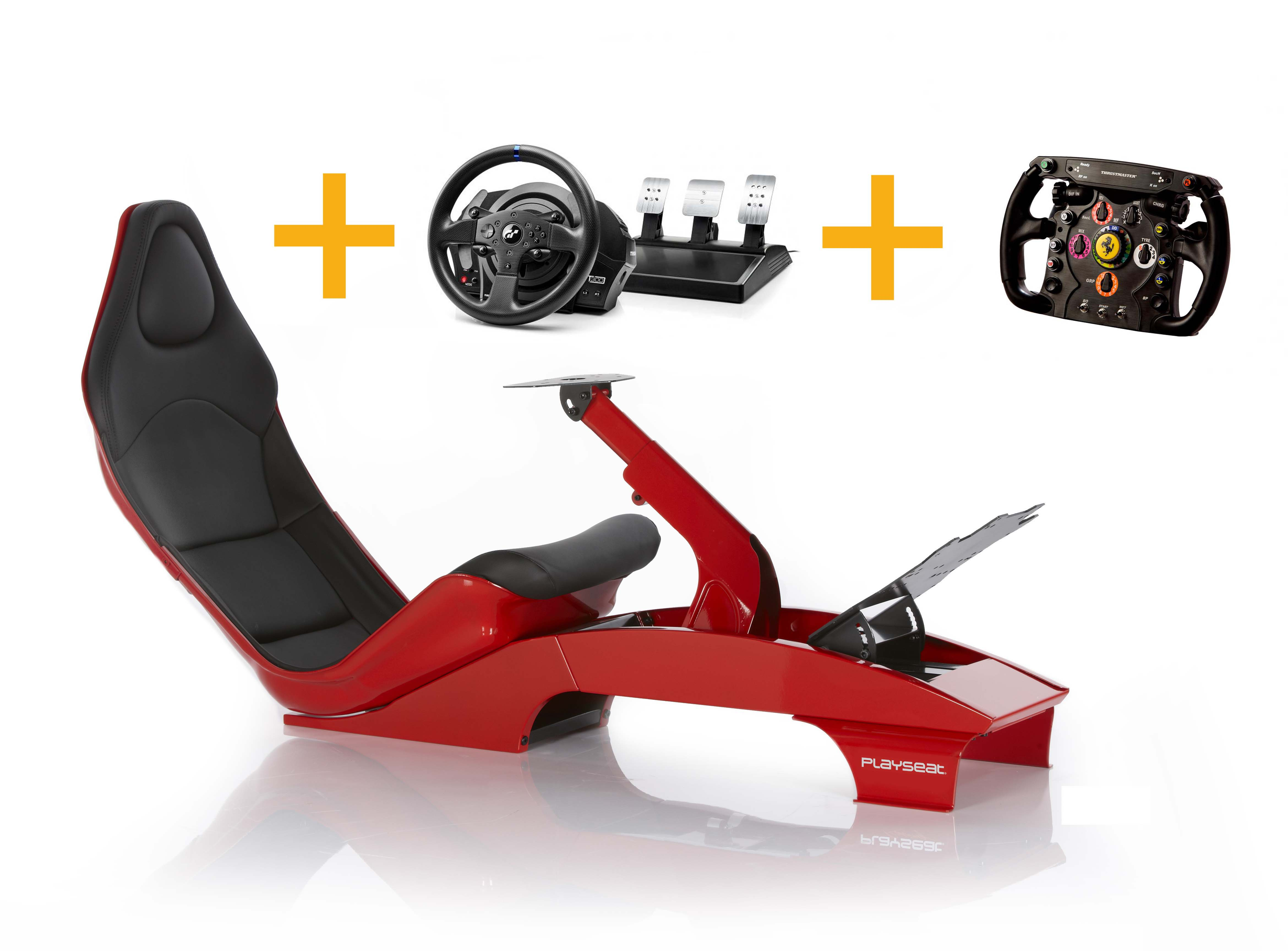 Playseat Playseat F1 Red + T300 RS GT + Ferrari F1 Wheel Add-on