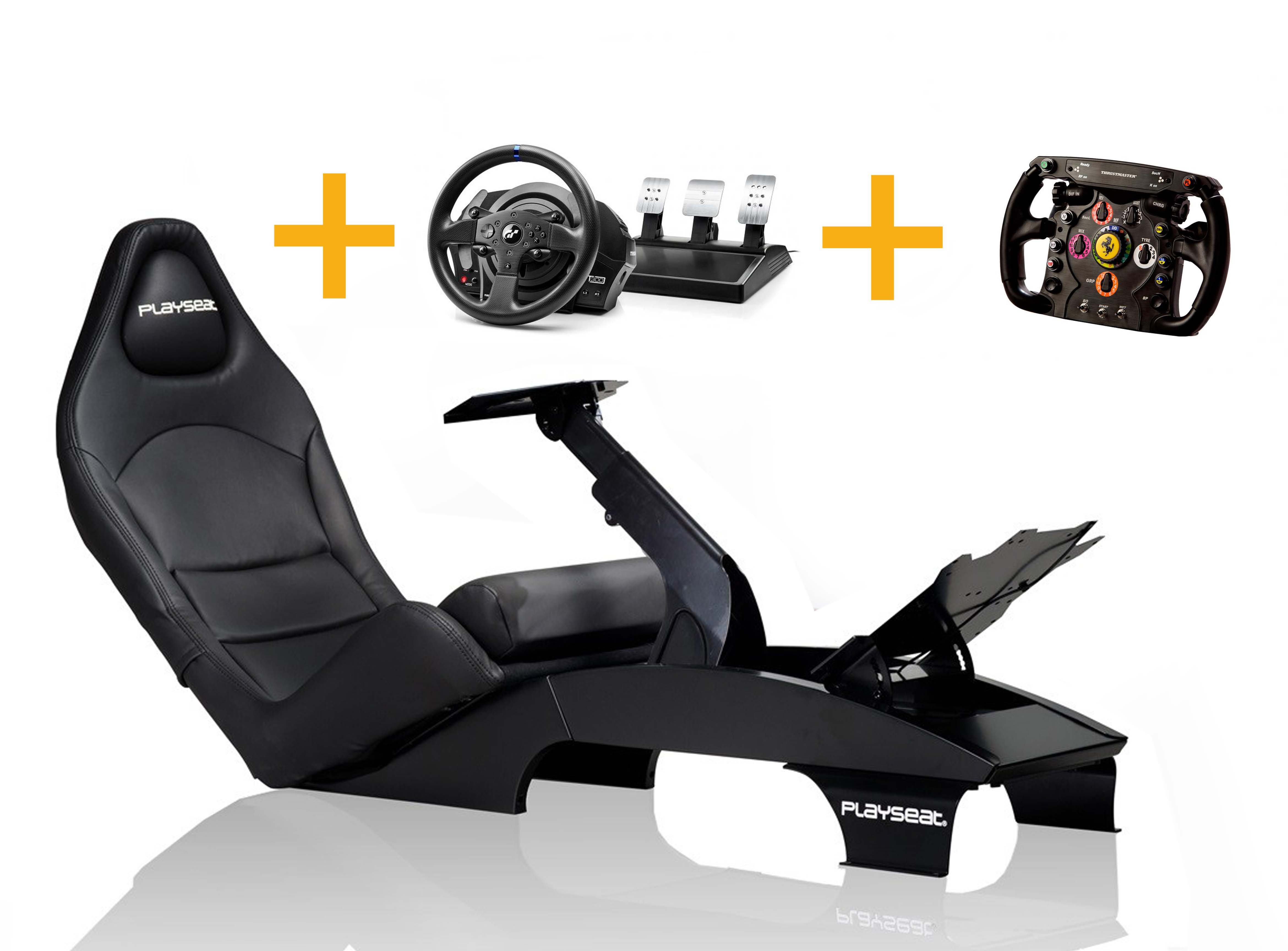 Playseat Playseat F1 Gran Prix + T300 RS GT+ Ferrari F1 Wheel Add-on