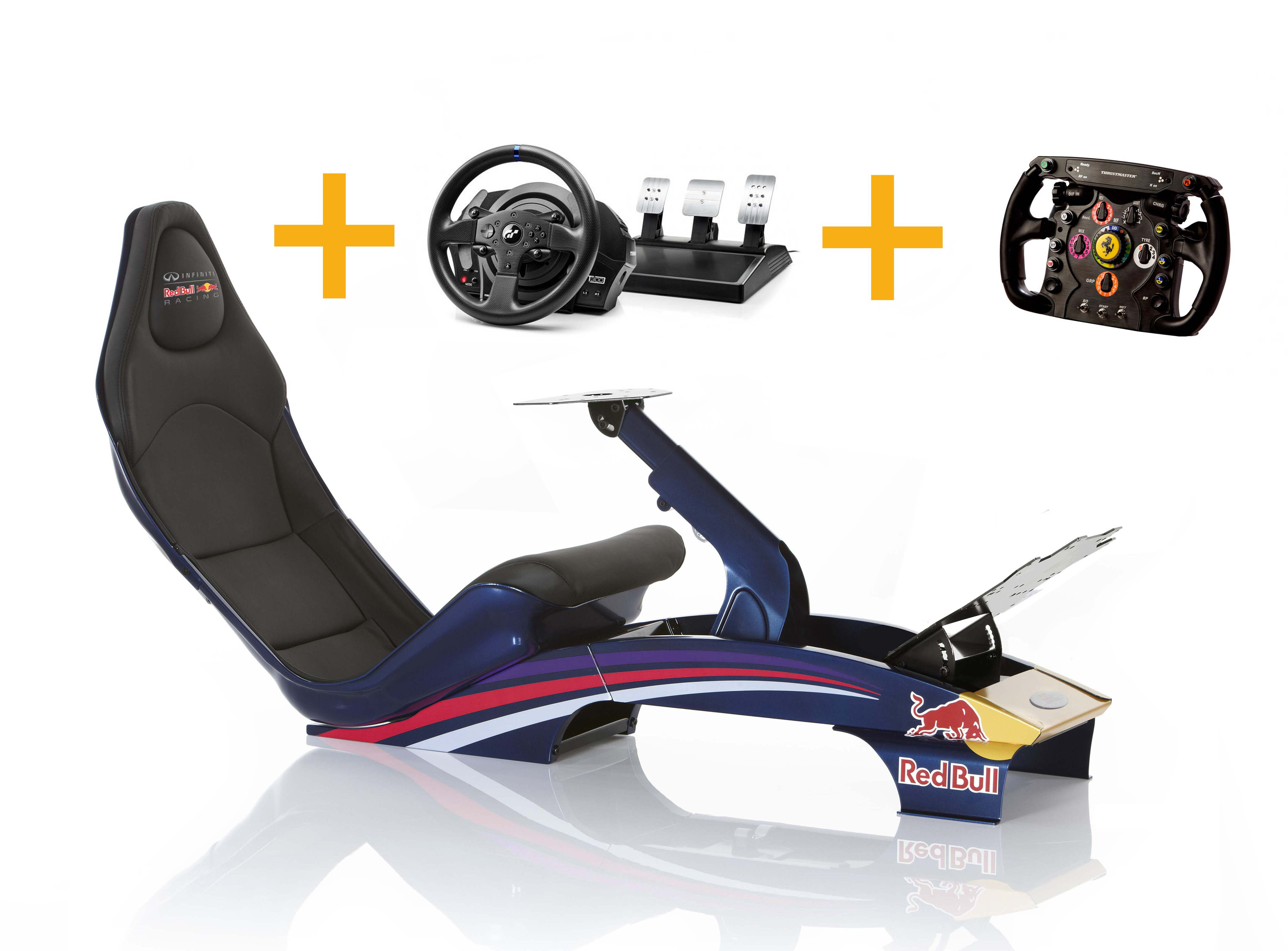 Playseat Playseat F1 RBR + T300 RS GT+ Ferrari F1 Wheel Add-on