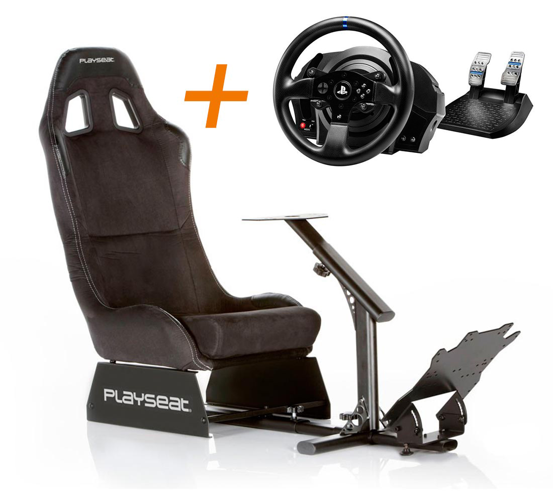 Playseat Playseat Alcántara + volante ThrustmasterT300RS
